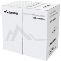 Kabel UTP Kat.5e DRUT black LCU5-12CU-0305-BK