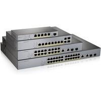 Przełącznik zarządzalny GS1350-26HP CCTV PoE LR 375W