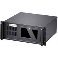 Obudowa PC ATX Rack 19 cali 4U, czarna