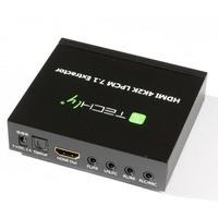 HDMI 4K audio extractor SPDIF Toslink, 4x Jack 3.5mm, LPCM 5.1CH / 7.1CH