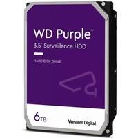 Dysk WD Purple 6TB 3, 5 128MB SATA 5640RPM WD62PURZ