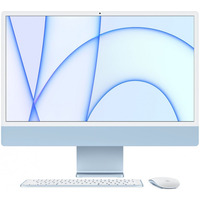 24 iMac Retina 4.5K display: Apple M1 chip 8 core CPU and 8 core GPU, 256GB - Blue