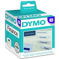 Dymo etykieta do drukarek LW 99017 biała, papierowa, 50mm/12mm