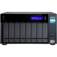 Serwer NAS TVS-872X-i3-8G 8x0HDD 5GbE/2, 5GbE i3-8100T 3, 1GHz