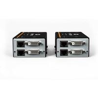 Przedłużacz LV4020P LV dual DVI, audio, USB, CATx 50m