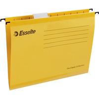 Teczki zawieszane A4 PENDAFLEX STANDARD żółte 25szt ESSELTE 90314