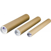 Tuba kartonowa długość 63.5cm szerokość 6cm 50016 LENIAR