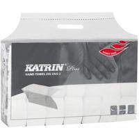 Ręcznik ZZ KATRIN biały 100%celuloza 2w. 150list/20op 232mm*230mm 65968/431463