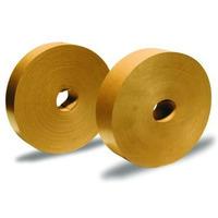 Taśma papierowa 72mm*200m brązowa 130-1301 klejenie na mokro