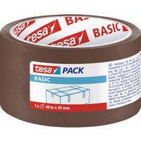 Taśma pakowa TESA BASIC 40m x 55mm brązowa 58574-00000-00TS