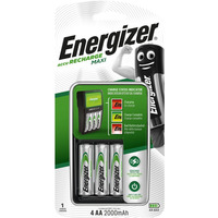 Ładowarka do akumulatorków Ni-MH ENERGIZER MAXI + 4szt AA/HR6 2000mAh