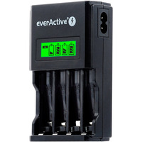 Ładowarka do akumulatorków Ni-MH EVERACTIVE AA/AAA NC-450, 4 kanały