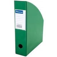 Pojemnik na czasopisma DATURA/NATUNA A4 10cm jasny zielony PCV (SD-36-06)