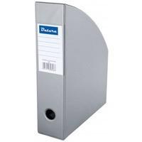 Pojemnik na czasopisma DATURA/NATUNA A4 10cm szary PCV (SD-36-09)