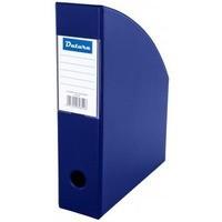 Pojemnik na czasopisma DATURA/NATUNA A4 10cm niebieski PCV (SD-36-03)