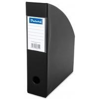 Pojemnik na czasopisma DATURA/NATUNA A4 10cm czarny PCV (SD-36-01)