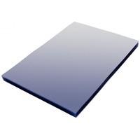 Folia do bindowania A4 NATUNA niebieska przezroczysta 0, 2mm 100szt