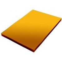 Folia do bindowania A4 DATURA/NATUNA przezroczysta żółta 0.20mm 100szt