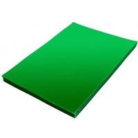 Folia do bindowania A4 ATUNA przezroczysta zielona 0, 2mm 100szt
