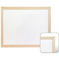 Tablica suchościeralna magnetyczna 100x150 biała r.drewniana WIELKOR