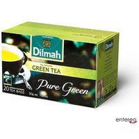 Herbata DILMAH Pure Green ekspresowa (20 kopert) zielona