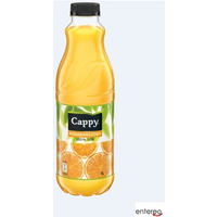 Sok CAPPY POMARAŃCZOWY 100% 1L butelka PET