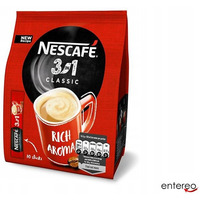 Kawa NESCAFE CLASSIC 3w1 rozpuszczalna 10 x paluszek 1, 65g