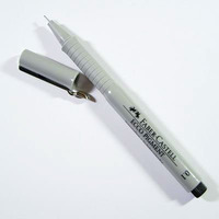 Cienkopis ECCO PIGMENT 0.8mm czarny 166899 FC FABER-CASTELL