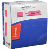 Zakreślacz MEMOBE neon różowy MM013-23