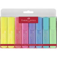 Zakreślacz 1546 pastelowe w etui 8sztuk 154681 FC FABER-CASTELL
