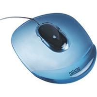 Podkładka żelowa pod mysz niebieska przezrocz. DATALINE 67046 ESSELTE
