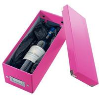 Pudełko na CD różowe LEITZ 60410023 C&S WOW
