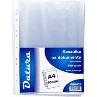 Koszulka groszkowa DATURA/NATUNA A4 40mic (100szt)