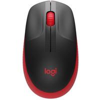Logitech M190 mysz optyczna | bezprzewodowa | USB | Czerwona