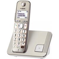 Telefon bezprzewodowy Panasonic KX-TGE210N duże klawisze wejście słuchawkowe