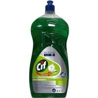 Płyn do mycia naczyń CIF Diversey, 2l, cytrynowy
