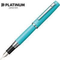 Pióro wieczne PLATINUM Proycon Turquoise Blue, M, turkusowe