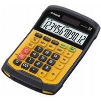 Kalkulator wodoodporny CASIO WM-320MT-S, 12-cyfrowy, 108, 5x168, 5mm, żółty, box