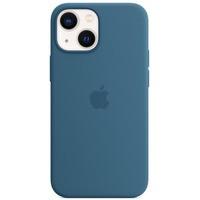 Etui silikonowe z MagSafe do iPhonea 13 mini - zielonomodre