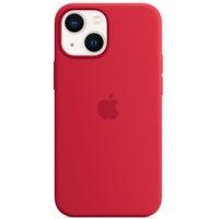 Etui silikonowe z MagSafe do iPhonea 13 mini - (PRODUCT)RED