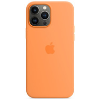 Etui silikonowe z MagSafe do iPhonea 13 Pro Max - miodowe