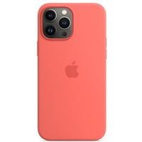 Etui silikonowe z MagSafe do iPhonea 13 Pro Max - róż pomelo