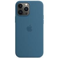 Etui silikonowe z MagSafe do iPhonea 13 Pro Max - zielonomodre