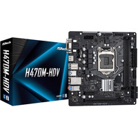 Płyta główna H470M-HDV s1200 2DDR4 HDMI/D-SUB/DVI mATX