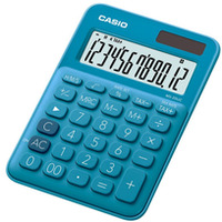 Kalkulator biurowy CASIO MS-20UC-BU-BOX, 12-cyfrowy, 105x149, 5mm, box, niebieski