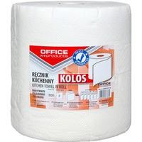 Ręczniki kuchenne celulozowe OFFICE PRODUCTS Kolos, 2-warstwowe, 500 listków, 100m, białe