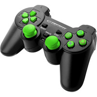 GAMEPAD PS3/PC USB TROOPER CZARNO/ZIELONY