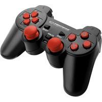 GAMEPAD PS3/PC USB TROOPER CZARNO/CZERWONY