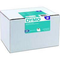 Dymo etykieta do drukarek LW 99012 biała, papierowa, 89mm x 36 mm   zestaw 24