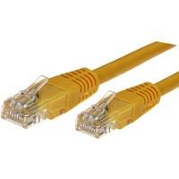 Kabel Patchcord kat.6A RJ45 UTP 2m. żółty